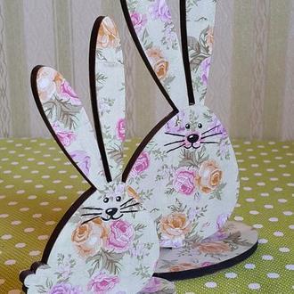 Интерьерный сувенир «Веселые зайцы».