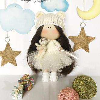 Интерьерная кукла зефирка