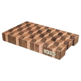 Торцевая разделочная доска CUBO Blocks Small (Дуб,Орех,Клен) 30x20x4см