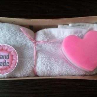 Набор мыло и полотенце