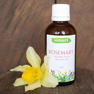 Розмарин (натуральна олія для масажу голови)