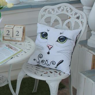 Подушка Cat WOW 40*40см