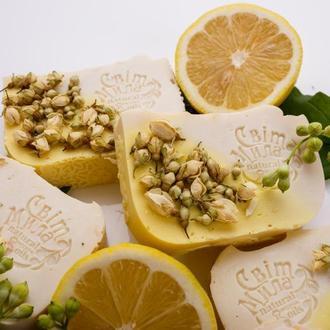 """Натуральне мило """"Лимон-жасмін"""""""