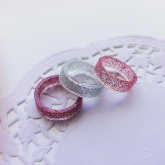 Кольцо из эпоксидной (ювелирной) смолы Shine