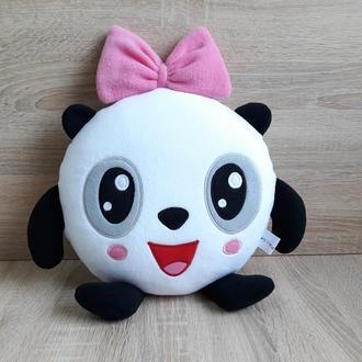 Мягкая игрушка - подушка Пандочка Малышарики