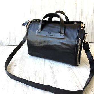Женская кожаная сумка - органайзер Spich
