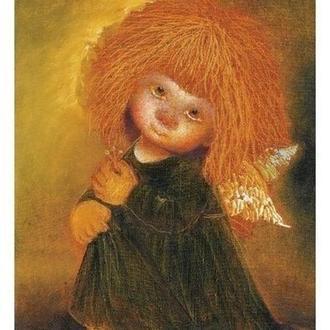 "Картина на холсте ""Флорентийский ангел"""