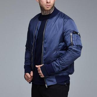 Куртка бомбер RAGE! NBJ-V2'18 Navy