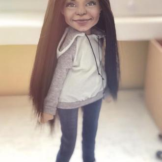 Текстильная Кукла с портретным сходством
