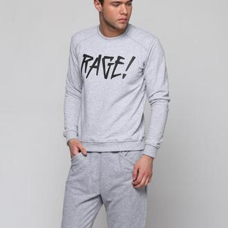 Sweatshirt logo gray