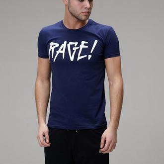 Футболка RAGE! Logo navy