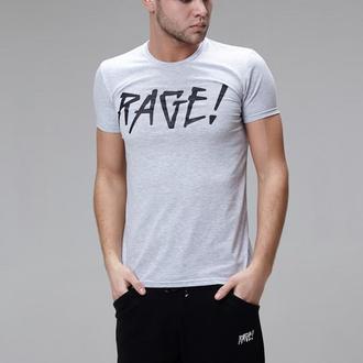 Футболка RAGE! Logo gray