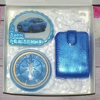 Сувенирное мыло мужской набор на День рождения