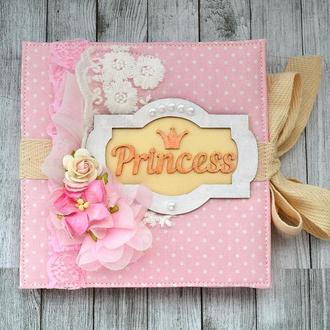 Книга пожеланий для девочки, ИЛИ мини-альбом, ИЛИ мамины заметки