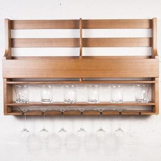 Настенный мини - бар из дерева Wood Bar DS91 - Olha