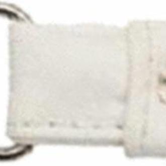 Ручки для сумок (искусственная кожа) с карабином White
