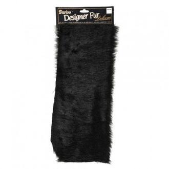 Мех (30*38 см), черный