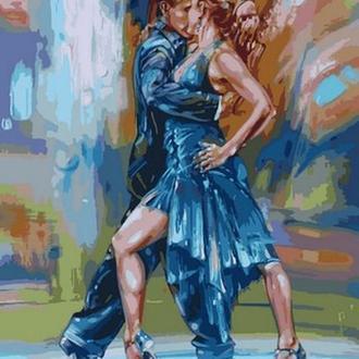 """Картина-раскраска Турбо """"Страстное танго""""  40 х 50 см"""
