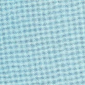 Ткань для вышивания  Linda Schulertuch 27 (ширина 140 см) голубой лед