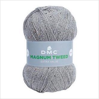 Пряжа MAGNUM TWEED DMC,цвет серый