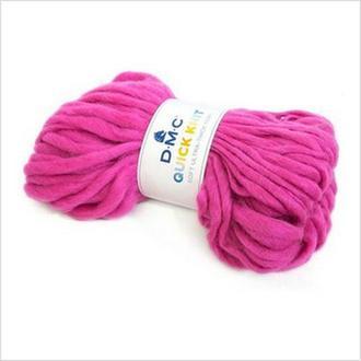 Пряжа QUICK KNIT DMC,цвет розовый