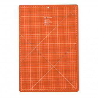 Коврик для раскройных ножей Omnimat,оранжевый цв. см 45 х 30 см