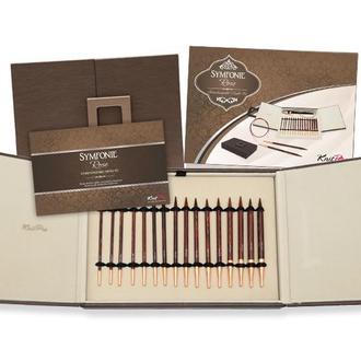 Набор деревянных съемных спиц Deluxe в подарочной коробке Symfonie Rose KnitPro