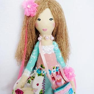 Кукла Кэтти с мишуткой