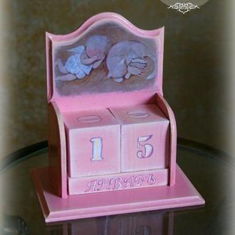"""Вечный календарь: """"Нежный сон"""""""