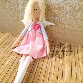 Интерьерная кукла-ангел,