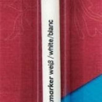 Аква-маркер, фломастер,білий,стандартний стрижень,Prym