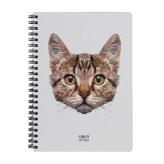 Скетчбук Geometrical Cat