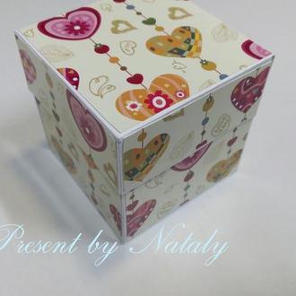Подарочная коробка, magicbox/exploding box, коробка для подарка