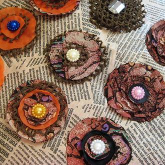 Набор готовых цветов для творчества, 20шт
