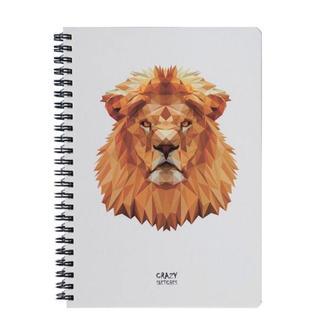 Скетчбук Lion на пружине