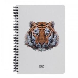 Скетчбук Tiger на пружине