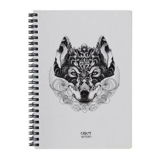 Скетчбук Wolf (S) на пружине