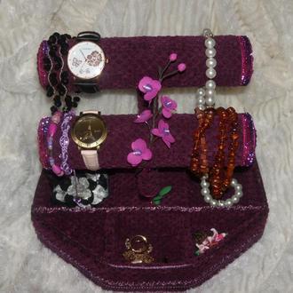 Подставка органайзер для браслетов и наручных часов