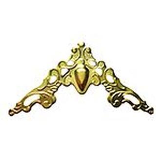 Накладка декоративная на угол золото 40х40мм, 4 шт