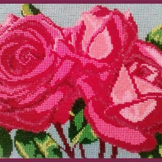 "Картина Бисером ""Розы"""