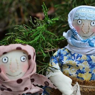 Кукла Текстильная  Игрушка  Сувенир  Хенд Мейд Игрушка