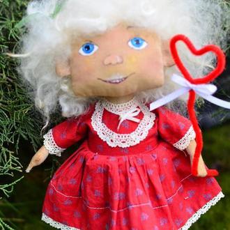Кукла Текстильная  Кукла ХендМейд Игрушка Сувенир  Ароматизированая Кукла