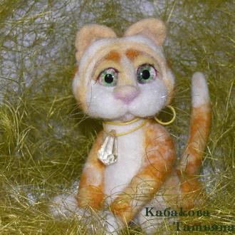 Валяный кот Мирон