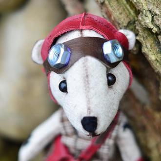 Кукла Медвежонок Игрушка ХендМейд Оригинальный Подарок Кукла Из Ткани
