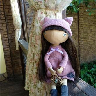 Кукла Текстильная Кукла ХендМейд Игрушка из Ткани Сувенир Ароматизированая Кукла