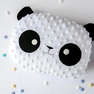 подушка Панда плюшевая