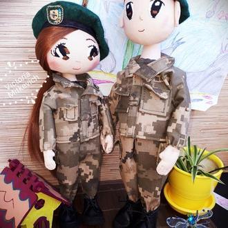 Куклы-пограничники