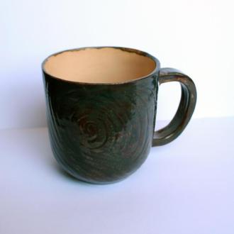 """Керамічна чашка """"Кавовий настрій"""""""