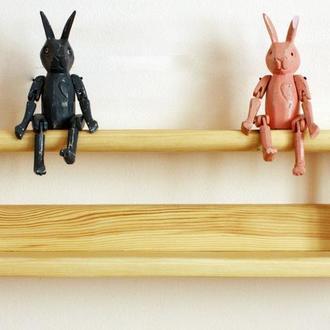 Декоративная полка в детскую комнату