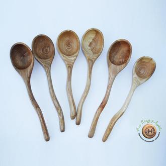 Набор деревянных ложек из ясеня
